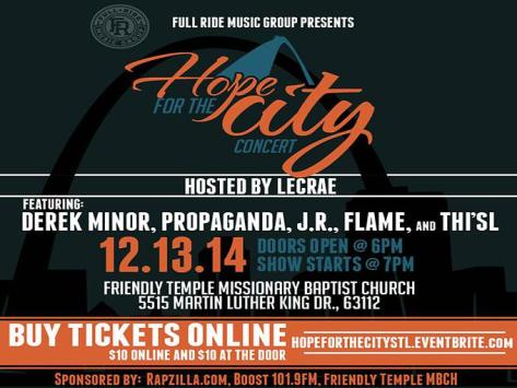 Hope for the City Flyer