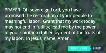 Work Prayer
