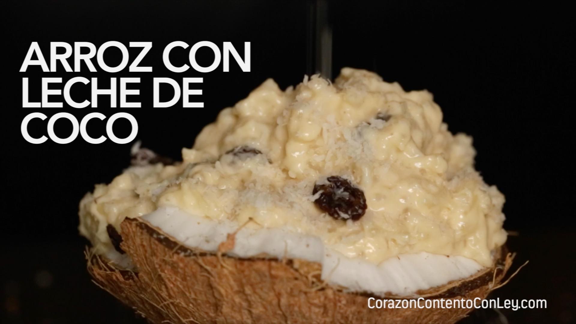 Coco De Arroz Leche Con