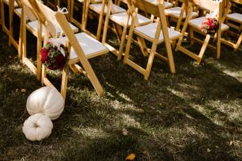 Fall Garden Wedding