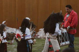 Hotel Chaco Buffal Dancers Side View