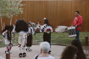 Hotel Chaco Buffalo Dancers and Drums