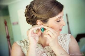 A Touch of Color with Turquoise Earrings