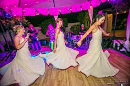 Bridesmaids Dance the Night Away
