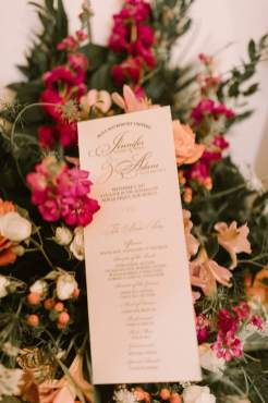 Classic Calligraphy Stationery to Tell the Ceremony Details