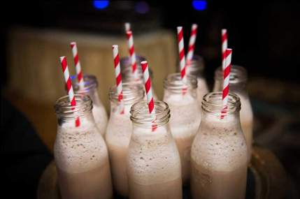 Milkshakes and Bright Straws
