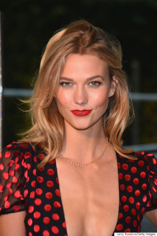 NEW YORK, NY - JUNE 01: Model Karlie Kloss attends the 2015 CFDA Fashion Awards at Alice Tully Hall at Lincoln Center on June 1, 2015 in New York City. (Photo by Larry Busacca/Getty Images)