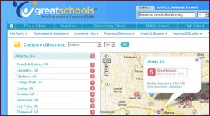 Great School Search Within Your Community
