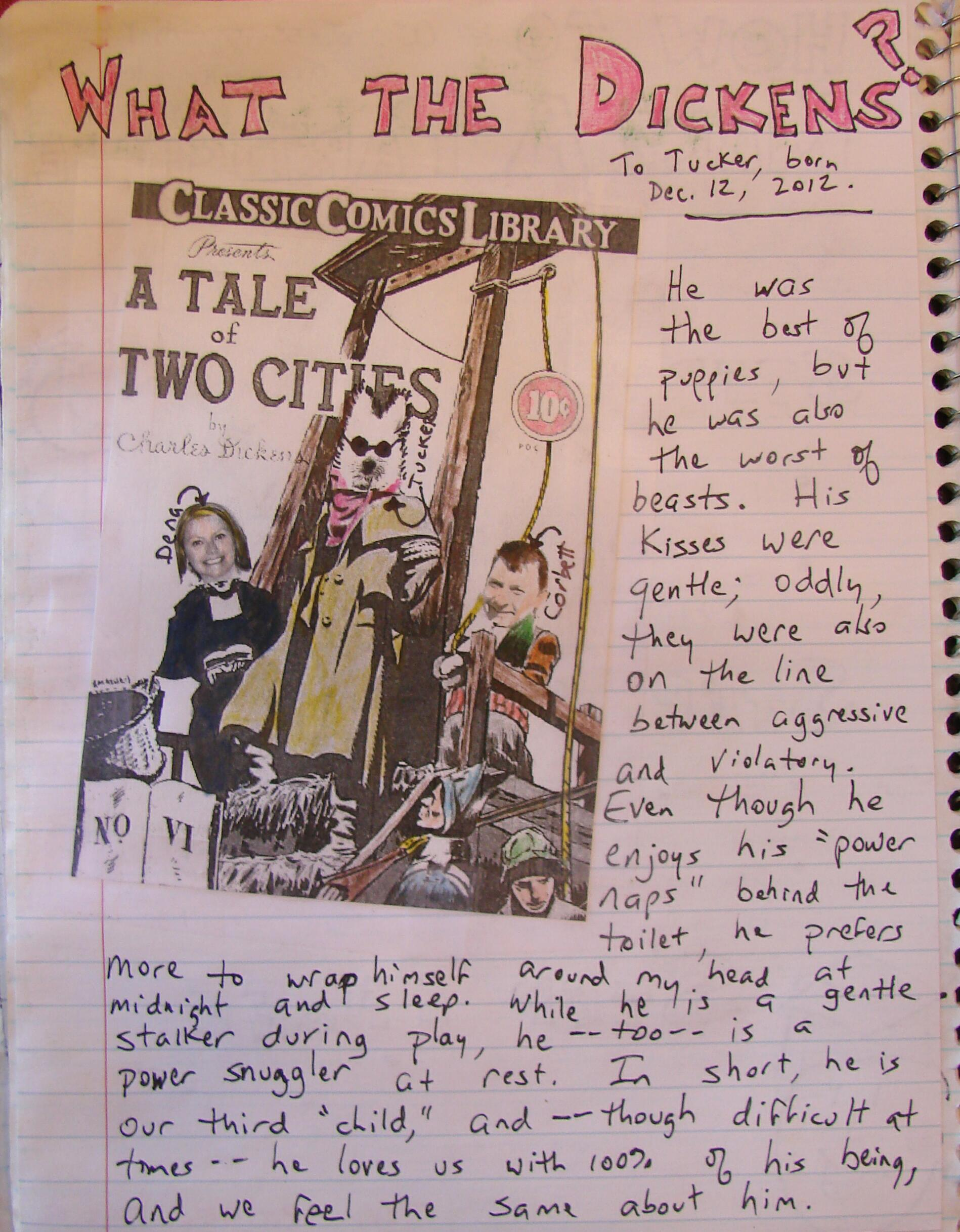 Always Write Using A Tale Of Two Cities To Learn About