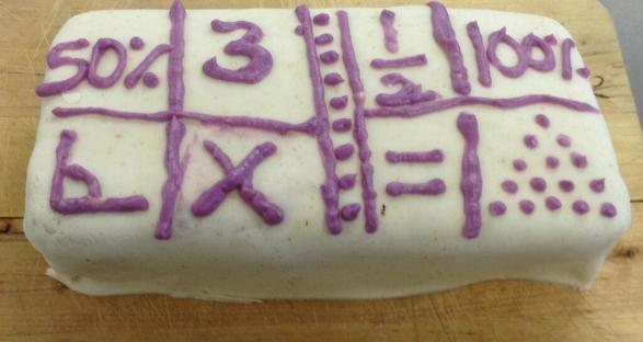 Maths Cake - @7maths7 entry