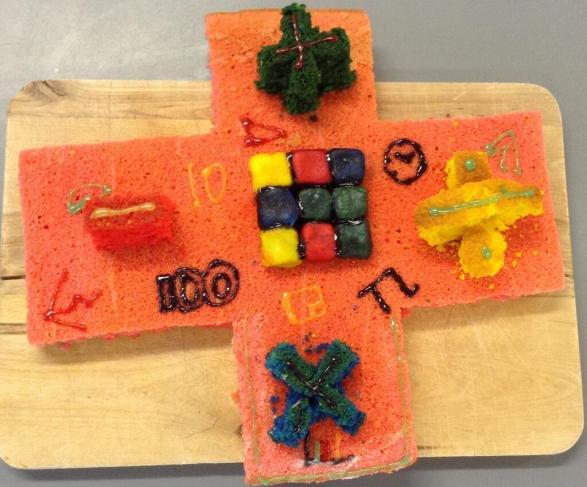 Pink Sponge Maths - @7maths7 entry
