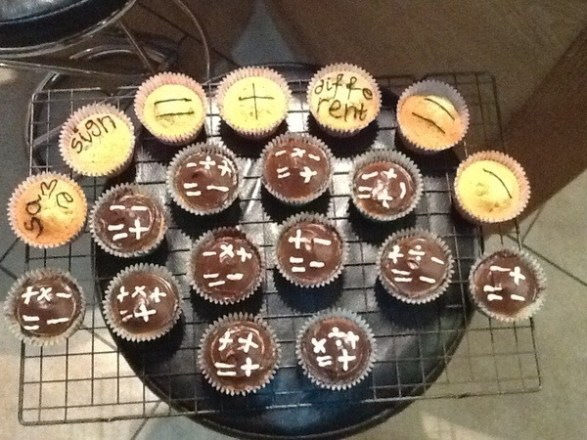 Positive Negative Cupcakes - @corbettmaths entry