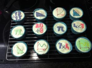 Birthday Maths Cupcakes - @RachelLBradley entry