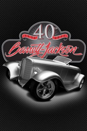 Barrett-Jackson 40th Anniversary Logo