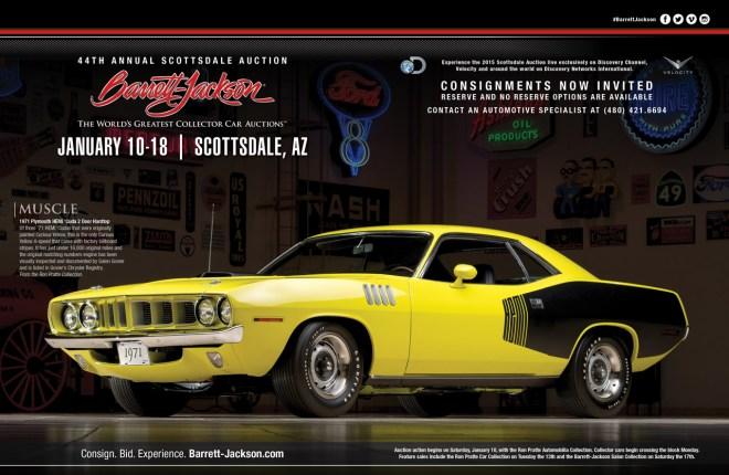 Barrett-Jackson American Car Collector Ad