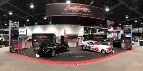 Barrett-Jackson SEMA 2016 - Booth Graphics by Corbin Snyder