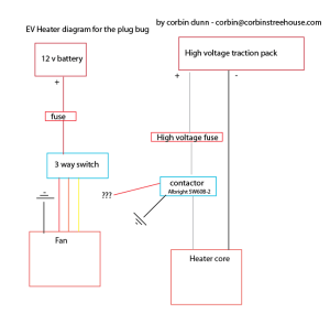 Help with heater wiring  3way switch to a contactor  DIY Electric Car Forums