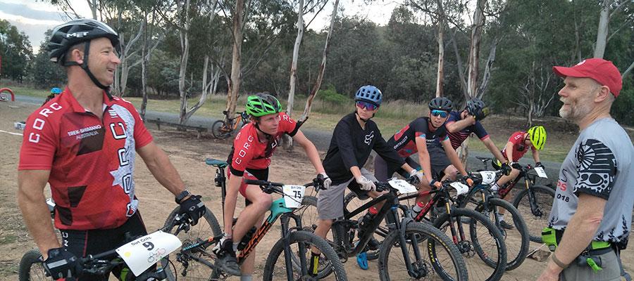 Dirt Crits at Tuggeranong BMX Track