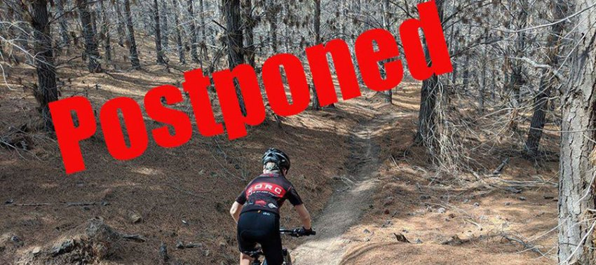 CORC XC Race postponed