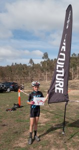 Parker Knox 1st in U13 Mixed