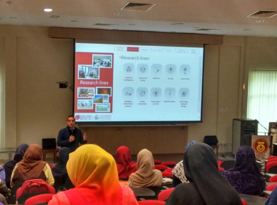 Juan Manuel Corchado - Conferencia en la Universidad Tecnológica de Malasia (UTM)