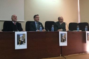 Con José Luis Fuertes y Manuel Lázaro