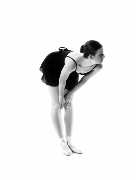 Bend over ballerina