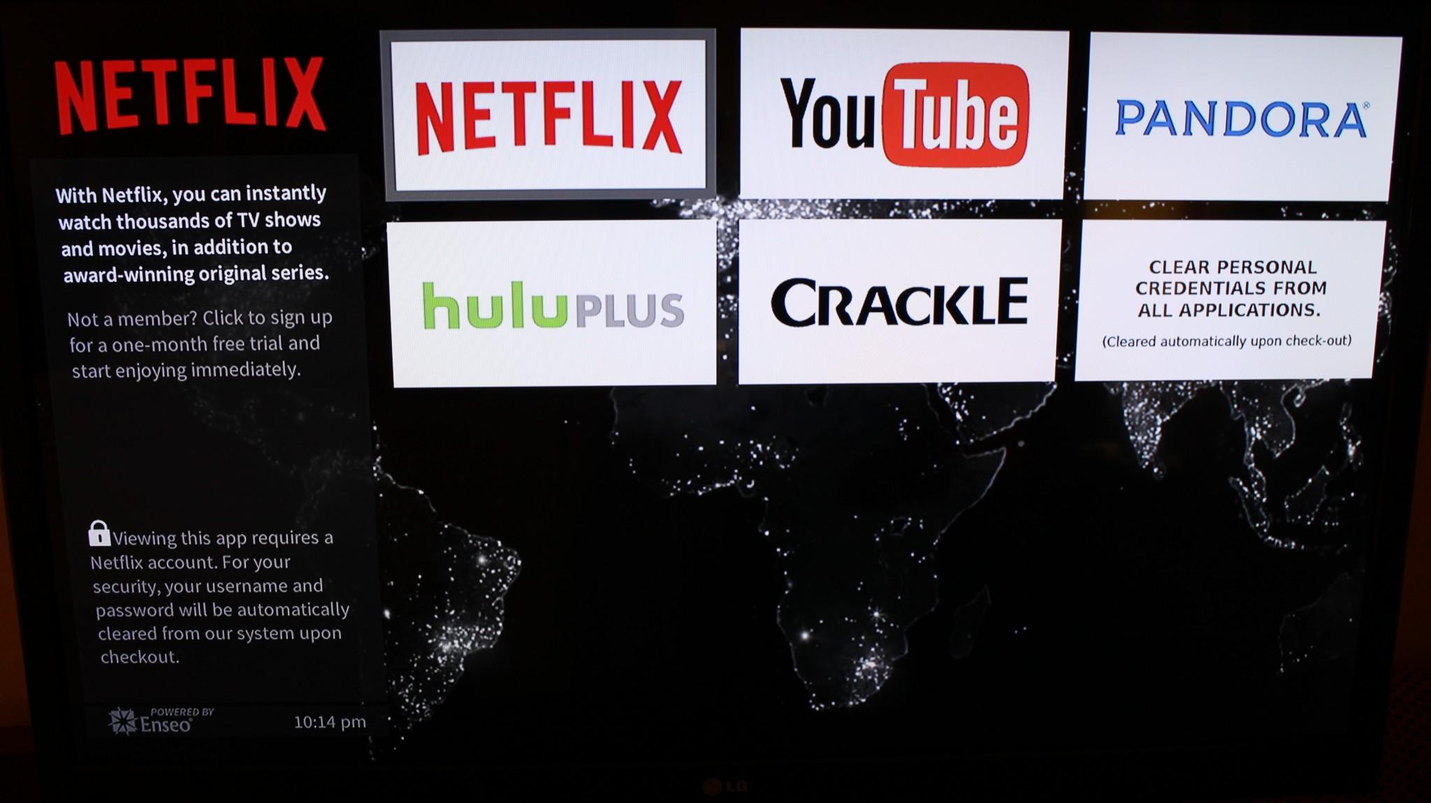 Marriott Hotels Add Netflix, Hulu Plus, Crackle, and YouTube
