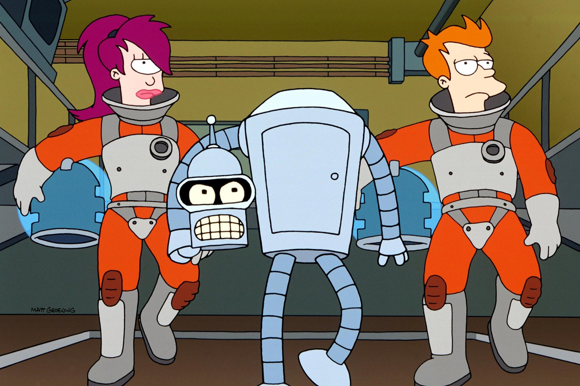 Futurama is headed to Hulu