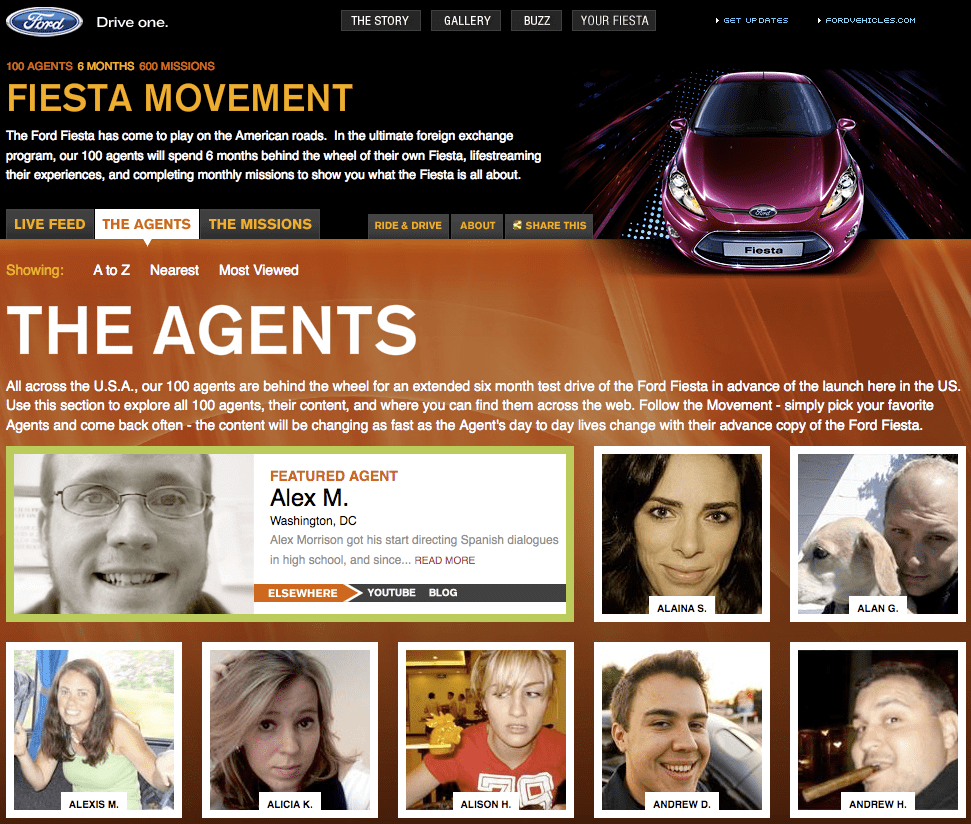 Ford > Fiesta Movement > homepage