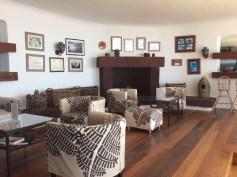 Mirador de la Pena, il soggiorno