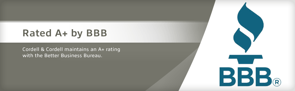 Rated A+ by BBB