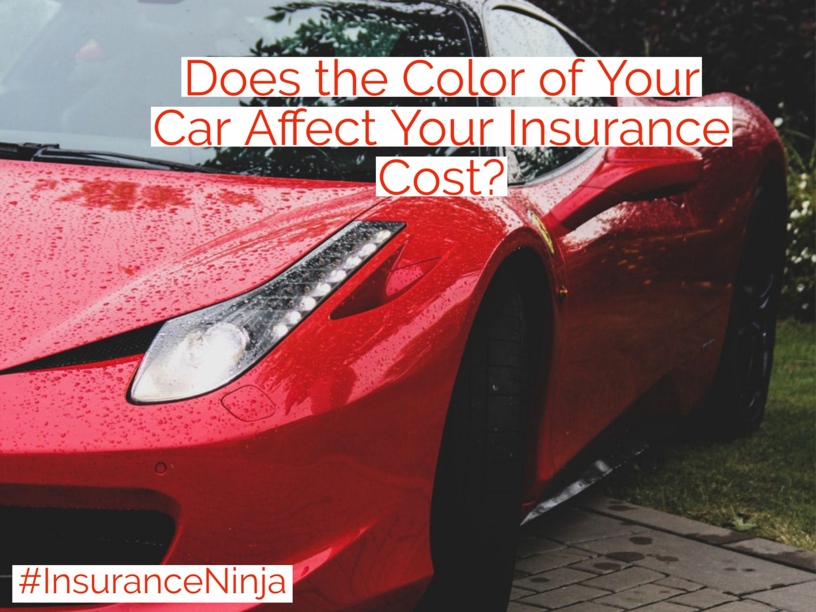 Does the Color of Your Car Affect Your Insurance Cost?