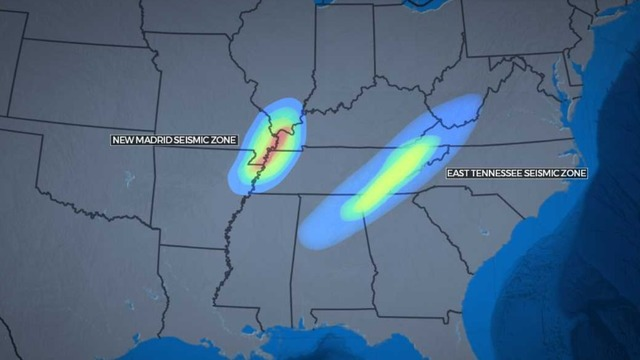 Seismic Zones in Tennessee