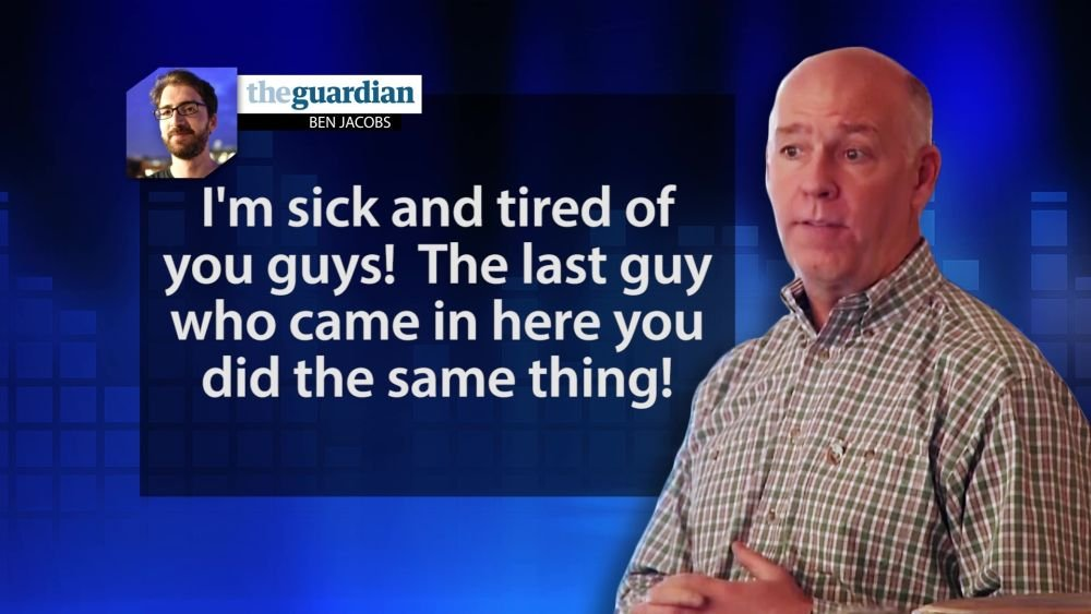 Image result for photos of gianforte and quist on election night