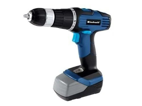Einhell BT-CD 18/1 18V Impact - Cordless Hammer Drill with 2 x Batteries
