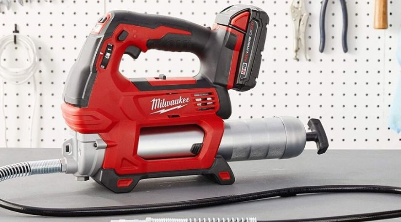 A representation of the best cordless grease gun