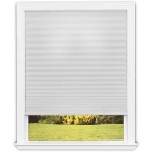An image of Redi Shade 3511168 Trim-at-Home Light Filtering Fabric White, one of the best cordless roman shades model you will fancy having in your home or office