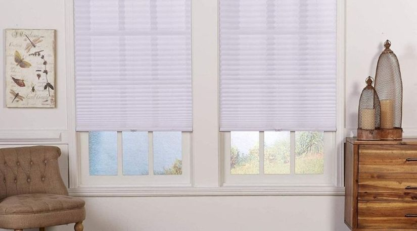 The best cordless blinds in use to filter in the lights into the room