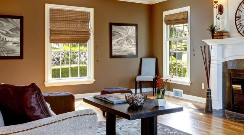 Best Cordless Roman Shades in use in the house to filter in air into the house