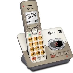 An image of AT&T EL52113 Single Handset Expandable Cordless Phone with Answering System, an example of the Best Cordless Phone with Answering Machine units