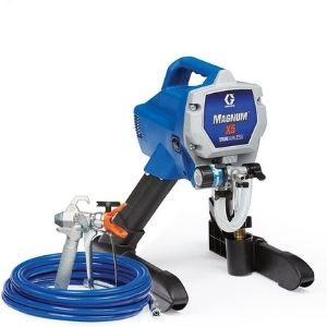 a picture of Graco Magnum 262800 X5 Stand Airless Paint Sprayer, one of the most affordable best cordless paint sprayer unit