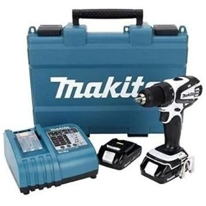 An image of Makita LXFD01CW 18-Volt Compact Lithium-Ion, an example of the best cordless makita drill tools