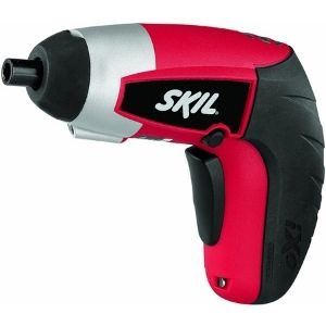 A picture showing SKIL 2354-01 iXO 4-Volt Max Lithium-Ion Palm-Sized Cordless Screwdriver, another powerful unit among the best cordless screwdriver for electricians