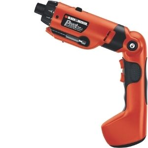 An image of BLACK+DECKER 6V MAX Cordless Screwdriver (PD600), an example of the best cordless screwdriver for electricians