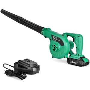 An image of Cordless Leaf Blower - 20V 2.0 Ah Lithium Battery 2in1 Sweeper, on of the primary units among the best cordless leaf blower under $200 units