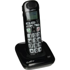 Among the best cordless phone for visually impaired is the Clarity Dect 6.0 Amplified Low Vision Cordless Phone which comes as a simple yet convenient device as illustrated above