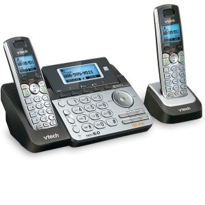 VTech DS6151-2 2 Handset 2-Line Cordless Phone displayed above is one ideal unit for homes and small offices as it is equipped with a digital answering systems making it one of the best VTech cordless phone