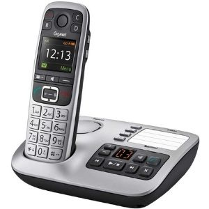 The Gigaset E560A - Premium Big Button Cordless Home Phone with Answer Machine illustrated above serves as one of the best cordless phone for visually impaired owing to its superb sound quality