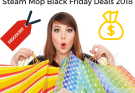 Steam Mop Black Friday Deals 2019